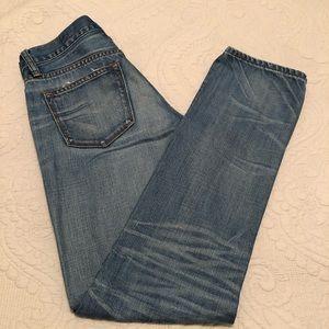 JCrew Women's Jeans Slim Broken In Boyfriend